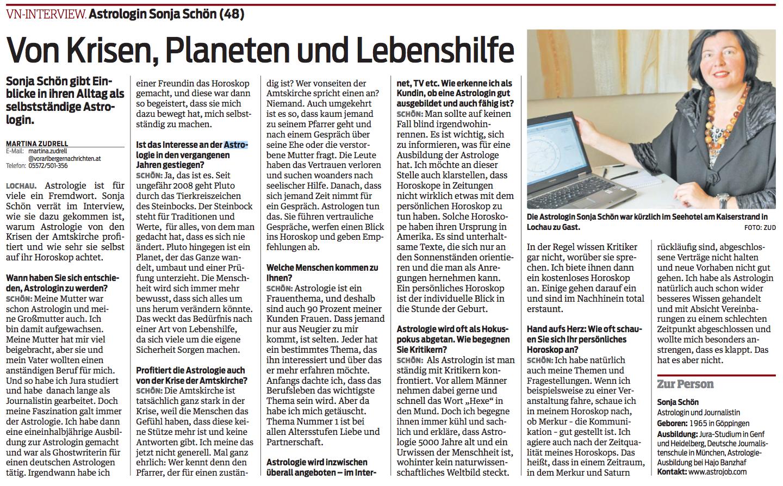 Interview im Vorarlberg